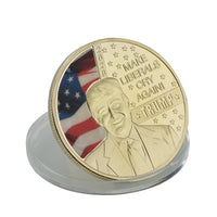 Trump 2020 Gold Plated Make Liberals Cry Coin - DonaldTrumpStoreUSA_com