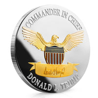 2020 Donald Trump Keep America Great Coins - Two Tone - Collector's Edition - DonaldTrumpStoreUSA_com