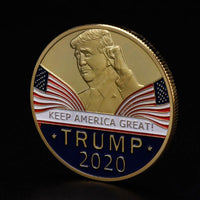 President Trump 2020 Official Re-Election Coin - DonaldTrumpStoreUSA_com