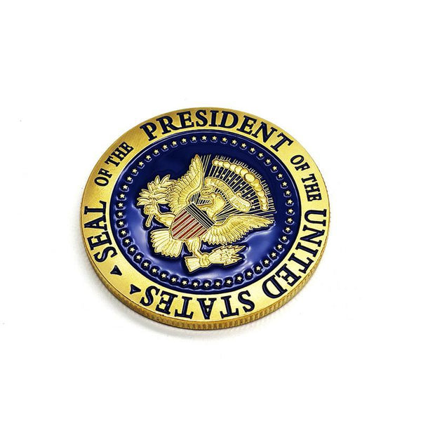 Trump 2020 Gold Plated Commemorative Coin - DonaldTrumpStoreUSA_com
