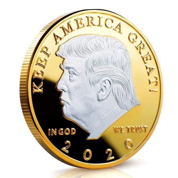 2020 Donald Trump Keep America Great Coins - Two Tone - Collector's Edition PROMO - DonaldTrumpStoreUSA_com
