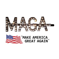 """MAGA"" Make America Great Again Hairclip - DonaldTrumpStoreUSA_com"