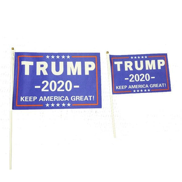 New Trump 2020 Hand Flags - DonaldTrumpStoreUSA_com