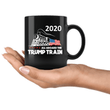 Trump Train 11oz Mug Black - DonaldTrumpStoreUSA_com
