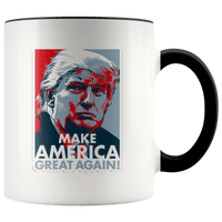 Trump Red/Blue Accent Mug - DonaldTrumpStoreUSA_com