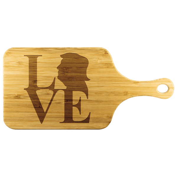 Love Trump Cutting Board - DonaldTrumpStoreUSA_com