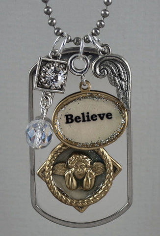 "Necklace - ""Believe"""