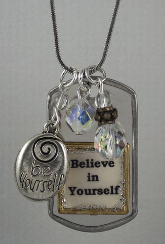 "Necklace - ""Believe in Yourself"""