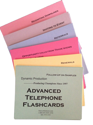 Advanced Telephone Flashcards
