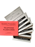 Basic Telephone Flashcards - Bulk Order (5 for $50)