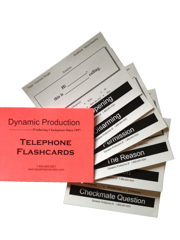 Telephone Flashcards