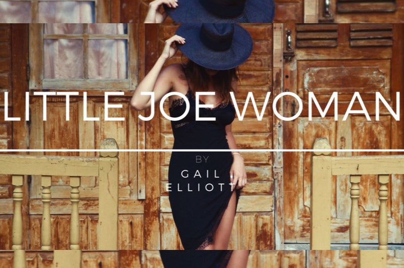 EXDREAMIST x LITTLE JOE WOMAN by GAIL ELLIOTT