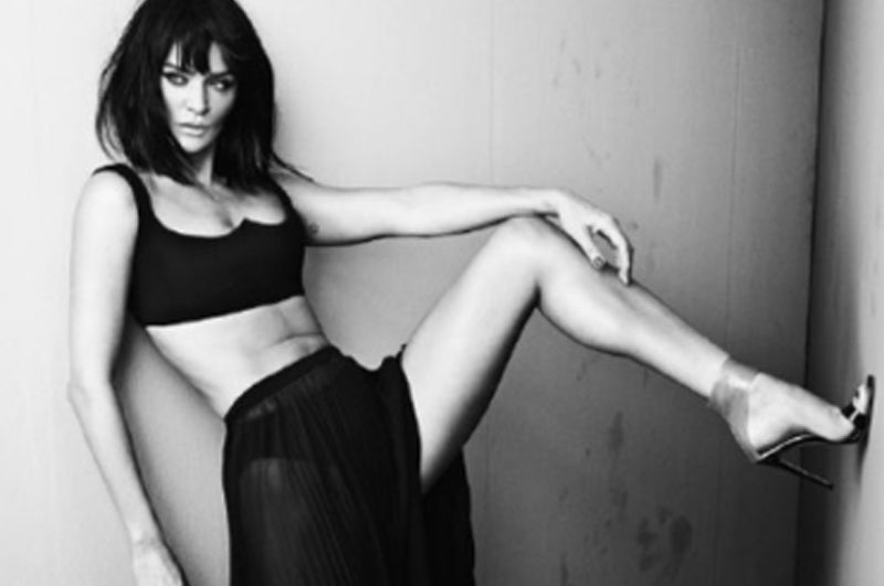 HELENA CHRISTENSEN: FIVE MINUTES WITH THE VIKING
