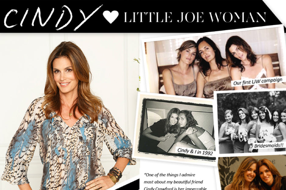 Cindy Crawford loves LJW!