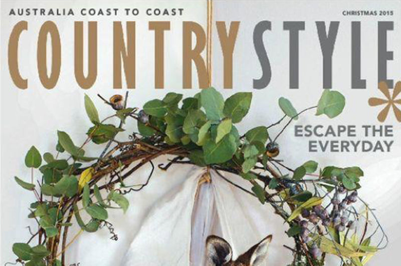Country Style Magazine, December 2015