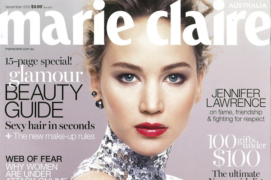 Marie Claire, December 2015