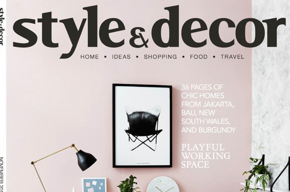 Style & Decor Magazine, November 2015