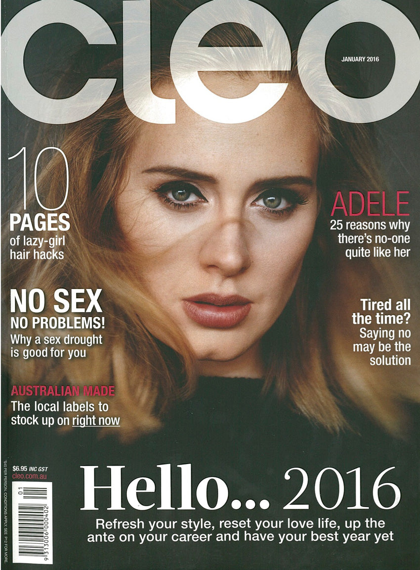 CLEO Magazine-January-2016-Cover-Little-Joe-Woman-by-Gail-Elliott