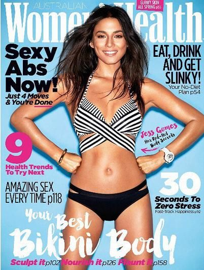 October 2015 - Women's Health - PAGE 162 - Little Joe Woman by Gail Elliott-COVER