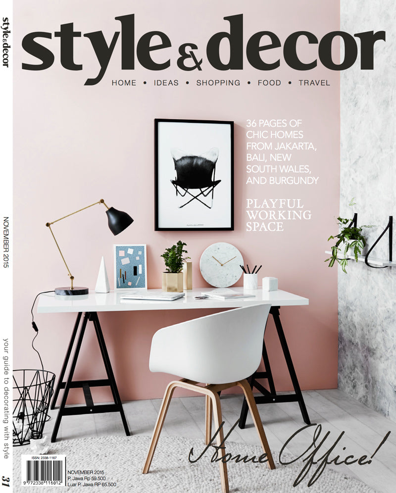 Style&Decor Magazine-November2015-Cover SD NOV 2015