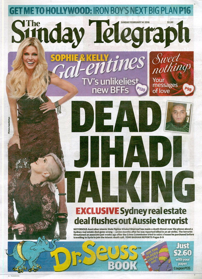The Sunday Telegraph - Cover - 14th February 2016