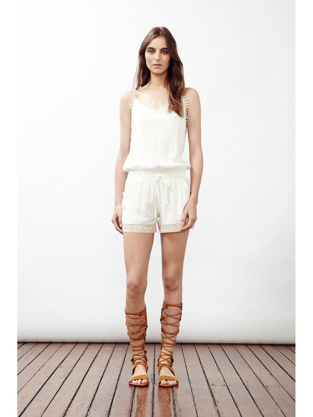 LET'S GO PLAYSUIT - Little Joe Woman by Gail Elliott E-Boutique  - 2