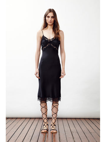 HERE IT COMES SLIP DRESS