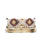 LITTLE JOE WOMAN X SUN MOON RAIN - AMBER LOVE BRACELET