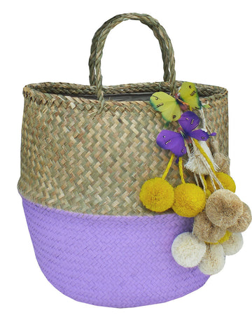 DAY TRIPPER RATTAN BASKET