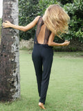 EVERLASTING LOVE SILK JUMPSUIT