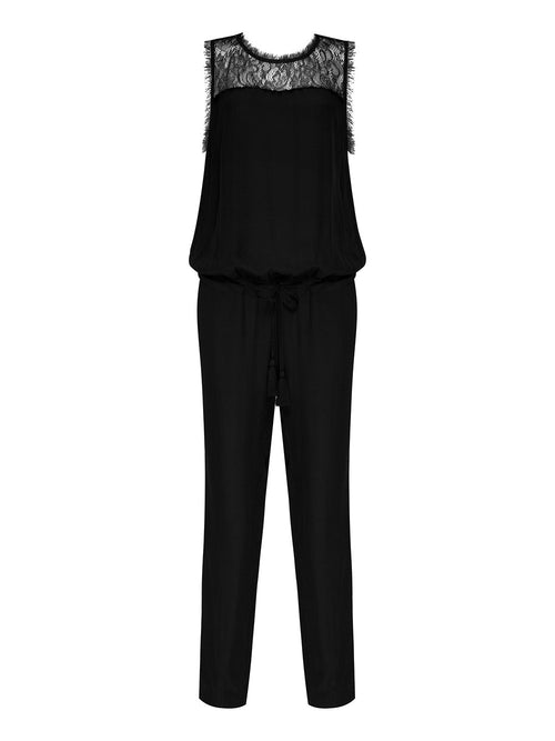 EVERLASTING LOVE SILK JUMPSUIT - Little Joe Woman by Gail Elliott E-Boutique  - 2
