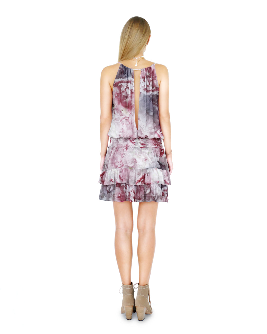HIGH TIDE PEONY PRINT DRESS