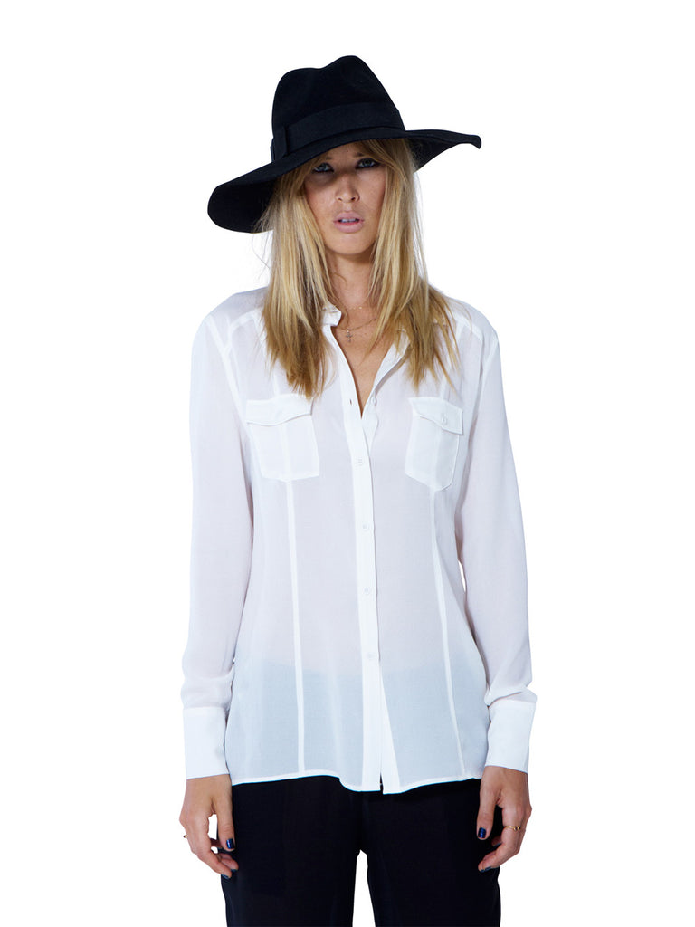 MY MARS SILK SHIRT - Little Joe Woman by Gail Elliott E-Boutique  - 3