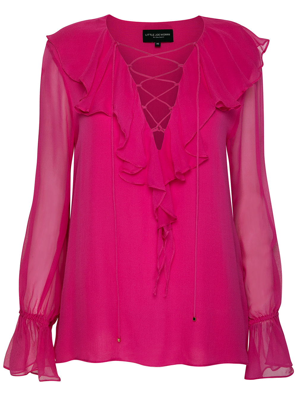 IN MY ARMS SILK BLOUSE