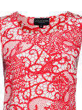 SIGNAL LACE PRINT TANK - Little Joe Woman by Gail Elliott E-Boutique  - 4