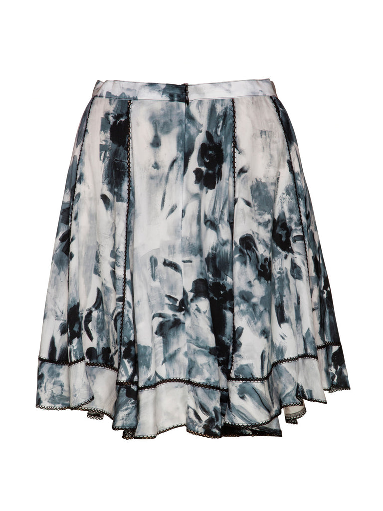 MOONSHINE SILK SKIRT - Little Joe Woman by Gail Elliott E-Boutique  - 3