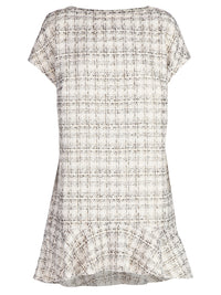Beautiful Concrete Boucle Dress - Little Joe Woman by Gail Elliott E-Boutique  - 1