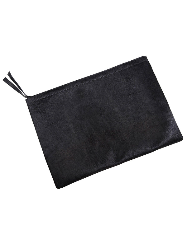 Luna Leather and Pony Hair Clutch - Little Joe Woman by Gail Elliott E-Boutique