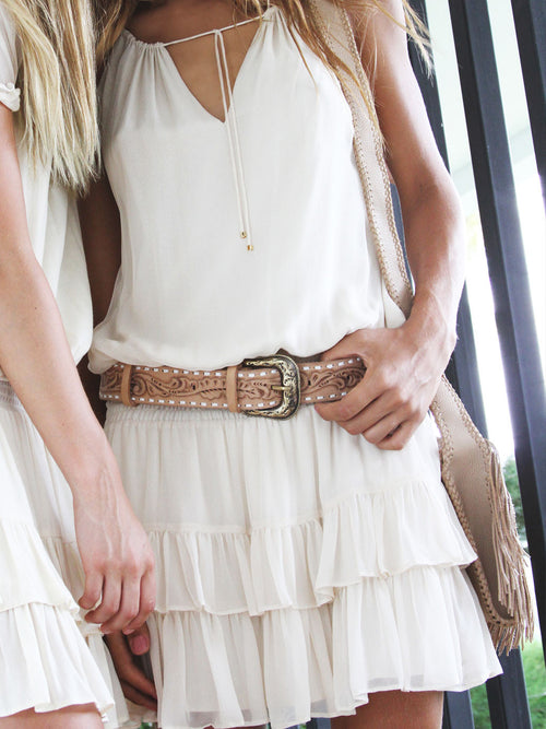 LOVE AFFAIR LEATHER BELT - Little Joe Woman by Gail Elliott E-Boutique  - 2