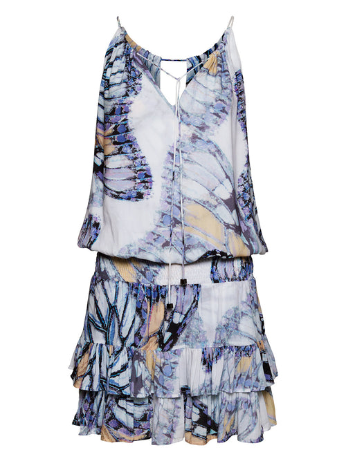 HIGH TIDE BUTTERFLY PRINT DRESS - Little Joe Woman by Gail Elliott E-Boutique  - 1