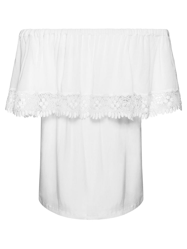 BLOSSOM OFF-THE-SHOULDER BLOUSE - Little Joe Woman by Gail Elliott E-Boutique  - 3
