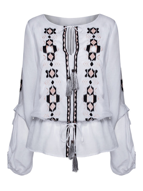 TOO FLIRTY BLOUSE