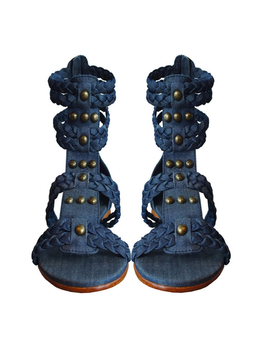 RHODE SANDAL - Little Joe Woman by Gail Elliott E-Boutique  - 1