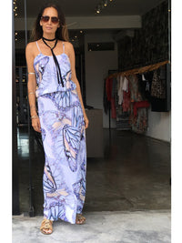 RUNAWAY BUTTERFLY MAXI DRESS - Little Joe Woman by Gail Elliott E-Boutique  - 2