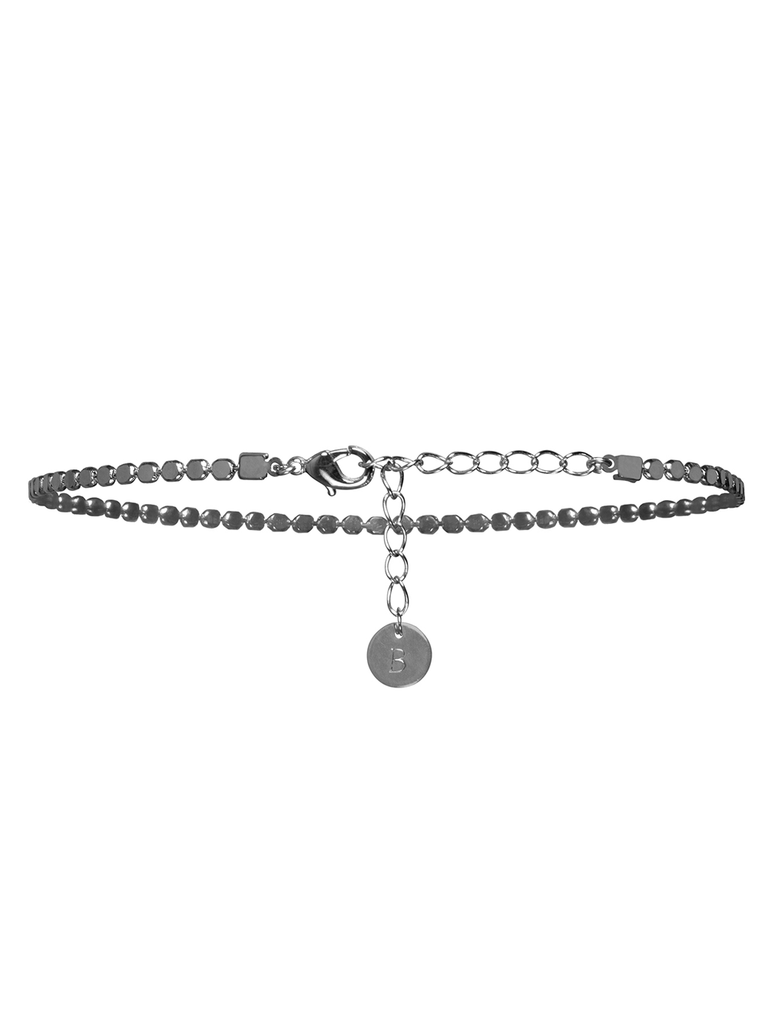Moonlight choker necklace in Silver