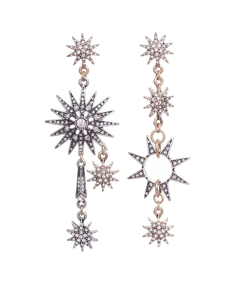 LITTLE JOE WOMAN X CLAIR HAYES - CELESTIAL STAR EARRINGS