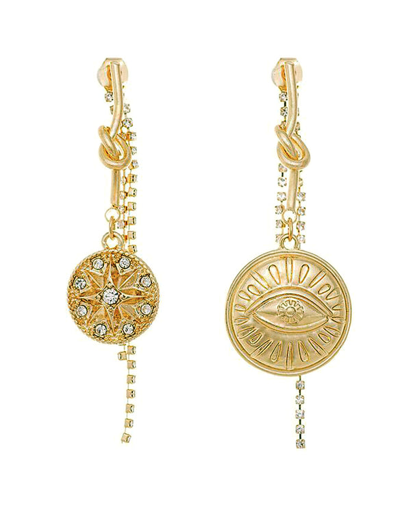 LITTLE JOE WOMAN X CLAIR HAYES - SUN GODDESS EARRINGS