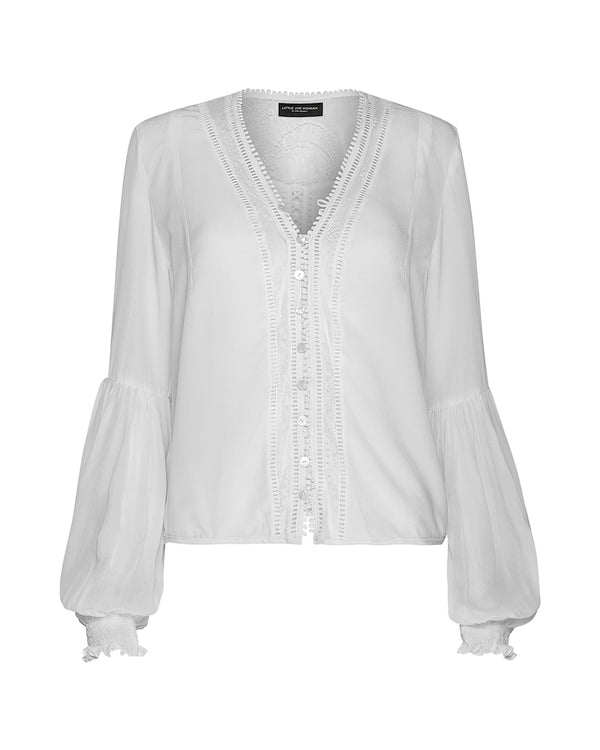 CANDY MAKER SILK BLOUSE