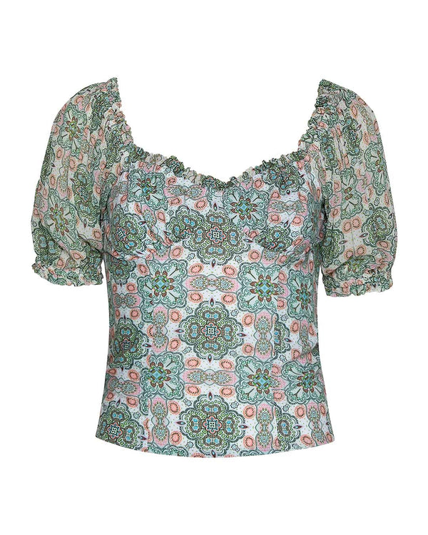 DAISY CHAIN BLOUSE