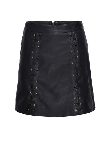 DAKOTA LEATHER SKIRT